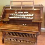 Wangerin Organ Console