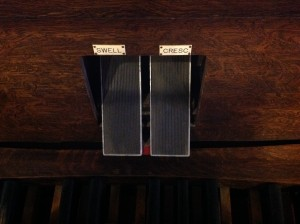 Wangerin Organ Expression Pedals